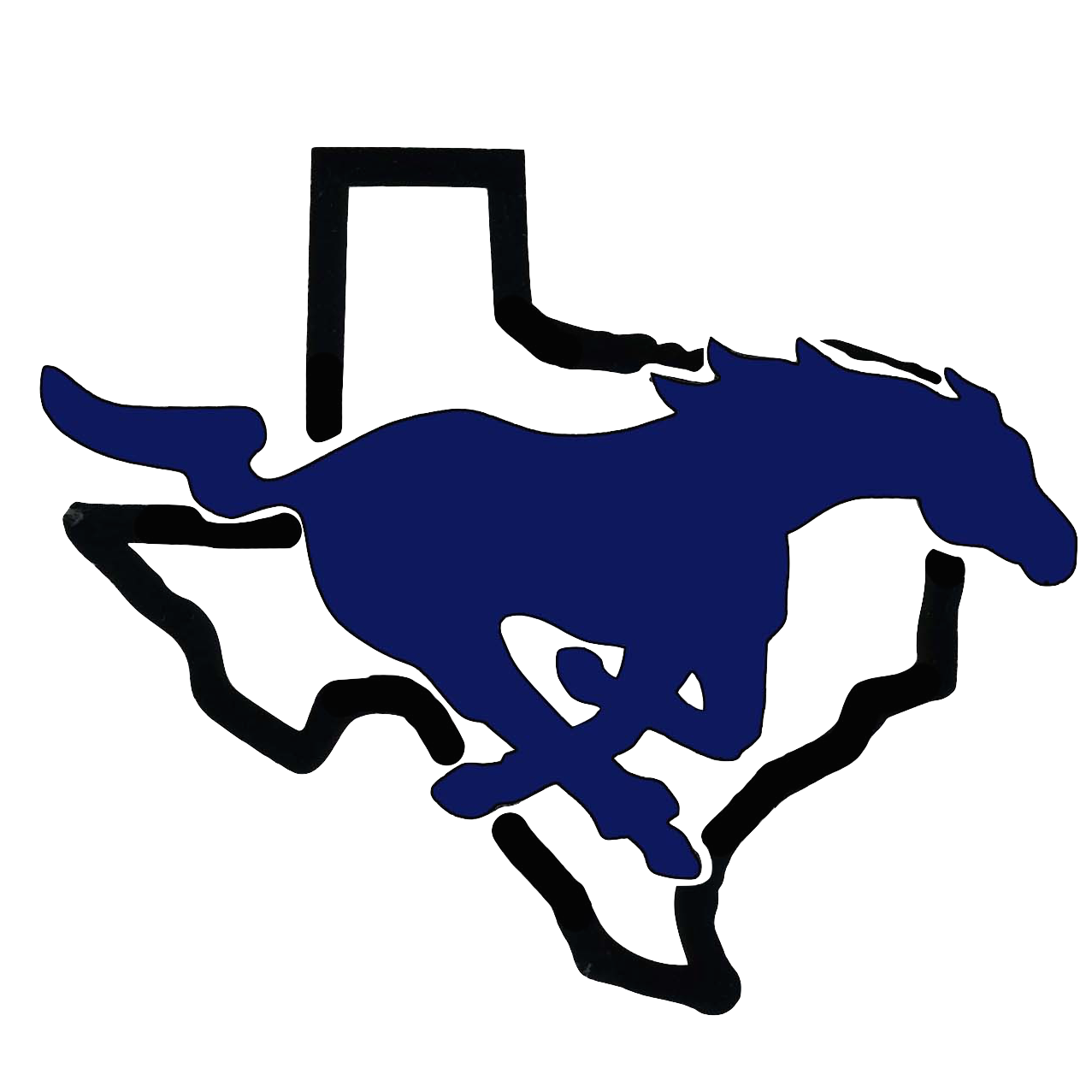 City View ISD Mustang Logo